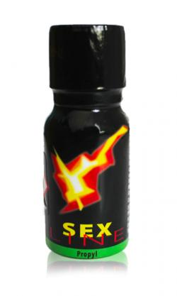 Poppers Sex line - Black (classic)